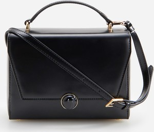 Czarna torebka Reserved do ręki matowa