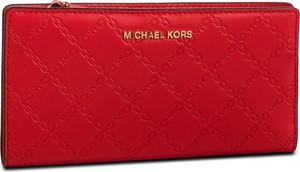 d27f081c32a4d Duży Portfel Damski MICHAEL MICHAEL KORS - Money Pieces 32S9GF6D9Y Bright  Red