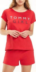 T-shirt Tommy Hilfiger z okrągłym dekoltem w stylu casual