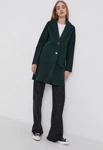 Zielony płaszcz Only w stylu casual