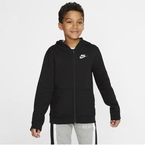 Czarna bluza dziecięca Nike dla chłopców
