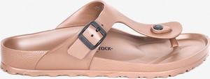 Różowe buty letnie męskie Birkenstock z klamrami