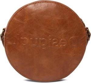 Brązowa torebka Desigual mała