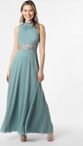 Zielona sukienka VM maxi bez rękawów