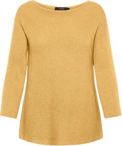 Żółty sweter Vero Moda