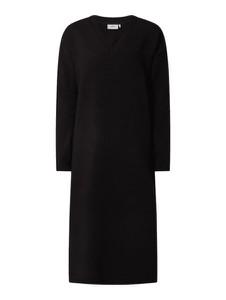 Czarna sukienka Moves w stylu casual