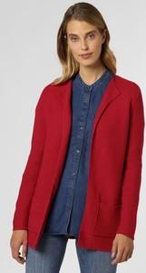 Czerwony sweter Franco Callegari w stylu casual