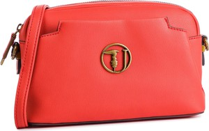 Czerwona torebka Trussardi Jeans na ramię