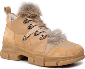 Sneakersy Eva Minge sznurowane na platformie