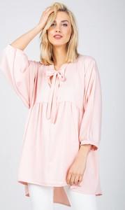 Sukienka Zoio z długim rękawem w stylu casual mini