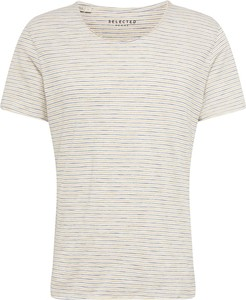 T-shirt Selected Homme z dżerseju