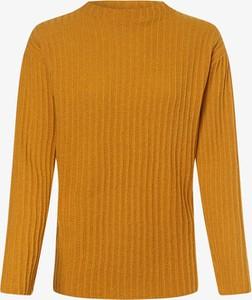 Złoty sweter März w stylu casual