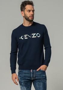 Sweter Kenzo z okrągłym dekoltem