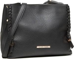 Czarna torebka Jenny Fairy średnia na ramię