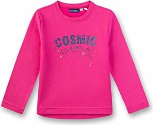 Różowa koszulka dziecięca amazon.de z długim rękawem