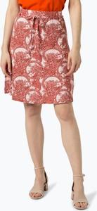 Czerwona spódnica Soyaconcept w stylu casual