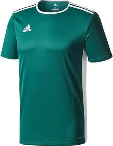 Zielona koszulka dziecięca Adidas