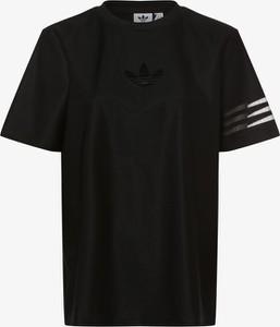 T-shirt Adidas Originals z krótkim rękawem z okrągłym dekoltem w sportowym stylu