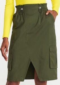 Zielona spódnica Reserved w stylu casual