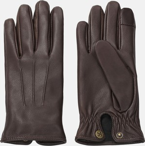 Brązowe rękawiczki Kazar