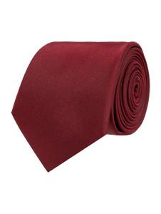 Czerwony krawat Montego