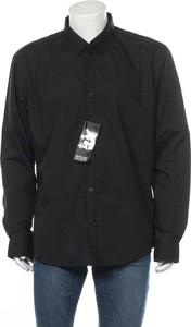 Czarna koszula Smog z długim rękawem