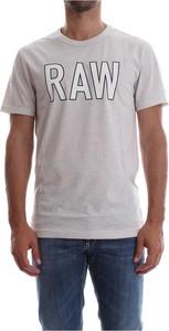 T-shirt G-star z bawełny
