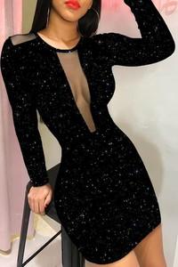Sukienka IVET mini dopasowana