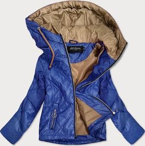 Niebieska kurtka Goodlookin.pl krótka w stylu casual