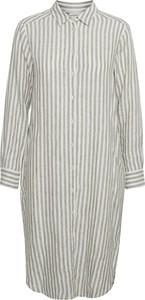 Sukienka Part Two z długim rękawem mini koszulowa