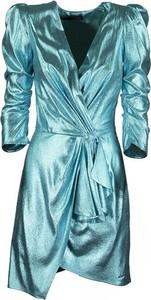 Sukienka Elisabetta Franchi z tkaniny tulipan
