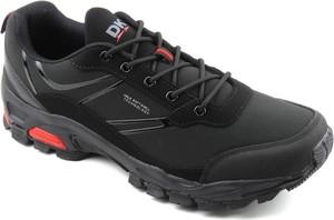Czarne buty trekkingowe DK z tkaniny