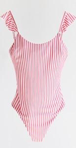 Różowy strój kąpielowy Reserved w stylu klasycznym