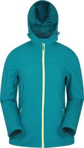 Niebieska kurtka Mountain Warehouse w stylu casual z tkaniny