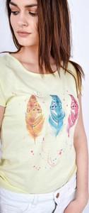 T-shirt Zoio w młodzieżowym stylu