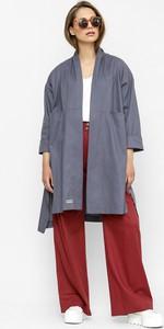 Płaszcz Freeshion w stylu casual z tkaniny