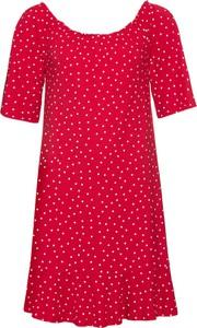 Sukienka bonprix RAINBOW mini z krótkim rękawem