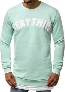 Bluza producent niezdefiniowany w młodzieżowym stylu