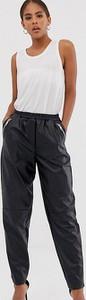 Spodnie Asos ze skóry