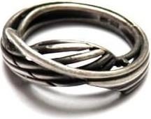 Venus Galeria Linie - pierścionek srebrny