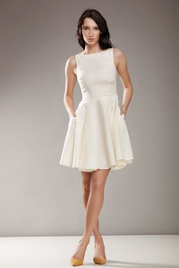 bb71a16481 kremowe sukienki wieczorowe. - stylowo i modnie z Allani