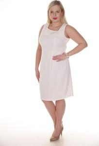 Sukienka Fokus w stylu klasycznym midi