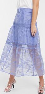 Niebieska spódnica Asos