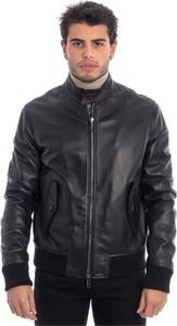 Czarna kurtka Tagliatore w stylu casual