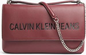 Czerwona torebka Calvin Klein
