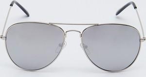 Srebrne okulary damskie Sinsay