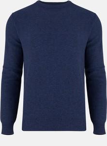 Niebieski sweter Pako Lorente z bawełny