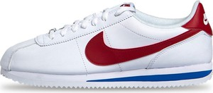 Sneakers buty Nike Cortez Basic Leather white/varsity red (819719-103)