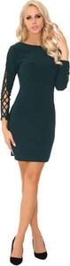 Czarna sukienka MERRIBEL ołówkowa