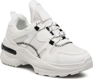 Buty sportowe DeeZee sznurowane na platformie
